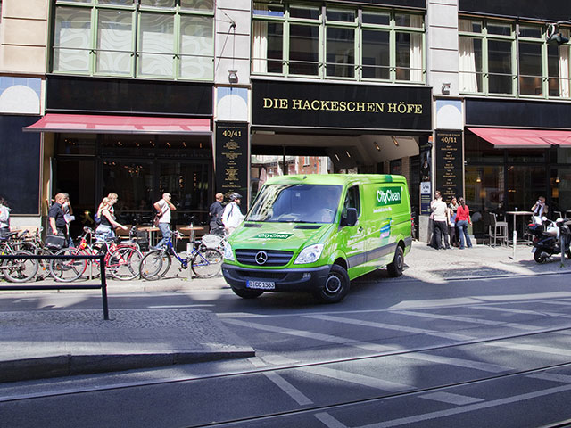 City Clean Auto im Stadtgebiet